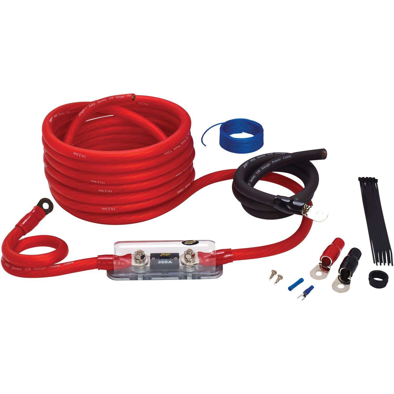 Stinger® SK4201 4000 Series 1/0-Gauge Power WiRING Kit
