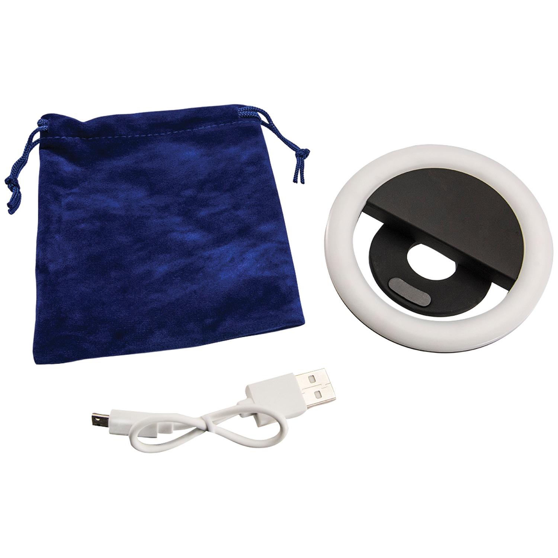 Arkon® SPLEDRING Rechargeable LED Selfie Clip-on RING Light
