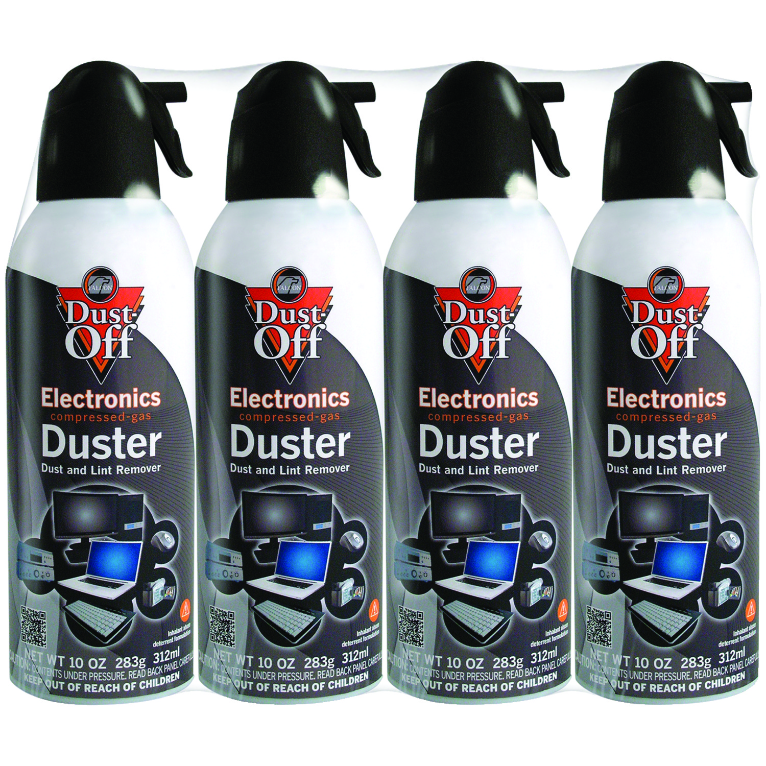 Dust-Off® DPSXL4A 10oz ELECTRONICS Dusters, 4 pk