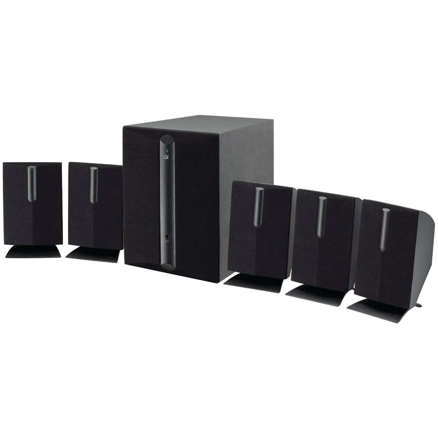 GPX� HT050B 5.1-Channel HOME THEATER Speaker System