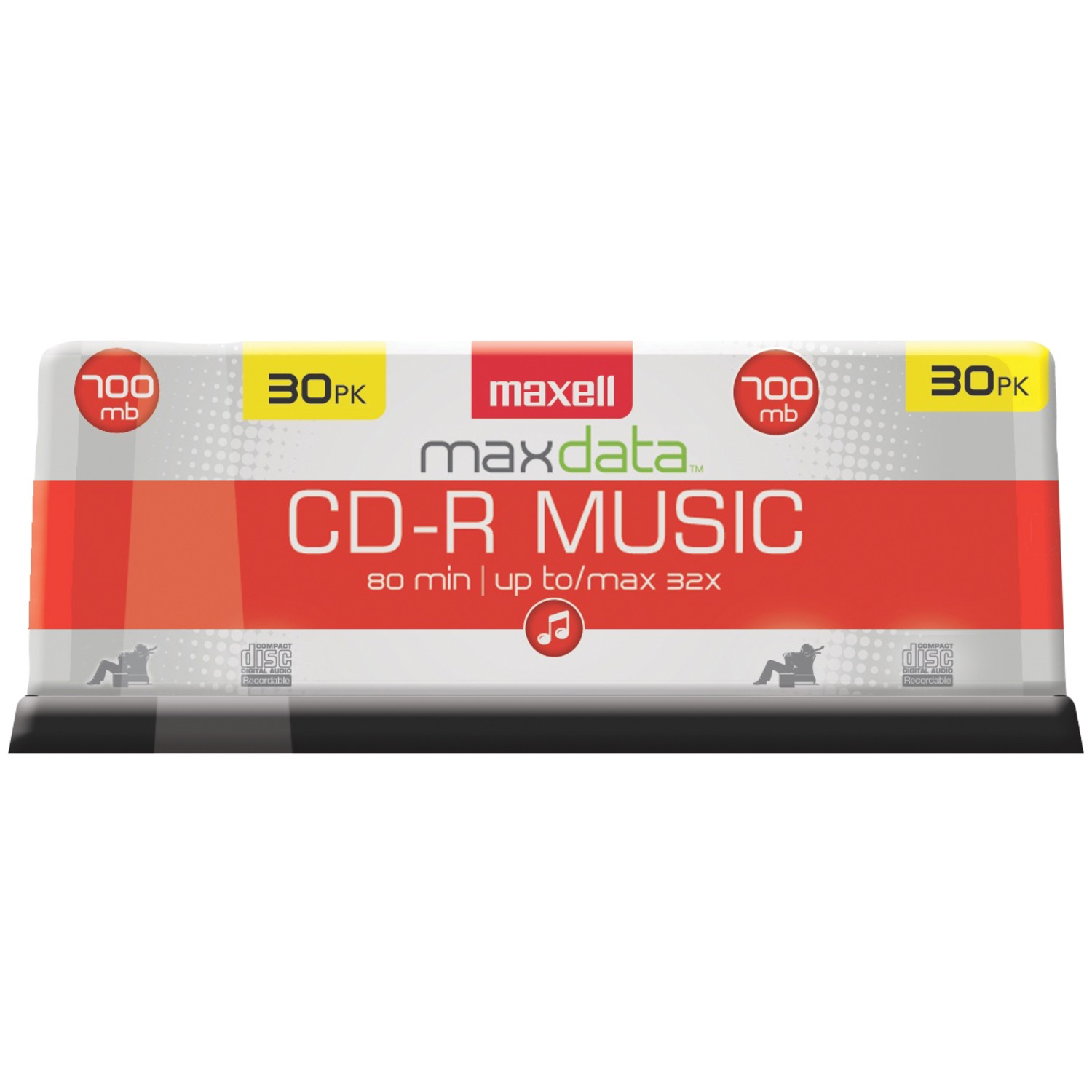 Maxell� 625335 80-Minute MUSIC CD-Rs (30-ct Spindle)