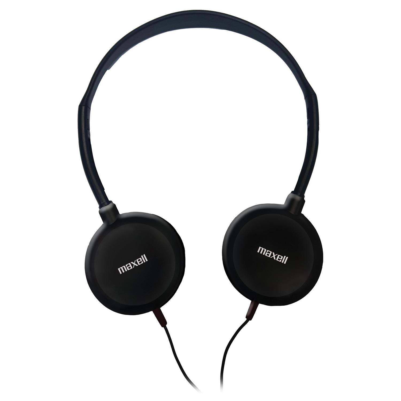Maxell® 190318 Lightweight Swivel On-Ear Stereo HEADPHONES