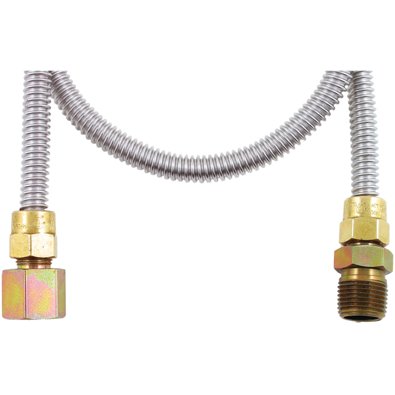 Dormont® 20-3132-48B(BAGGED) Gas Dryer & WATER Heater Flex-Line