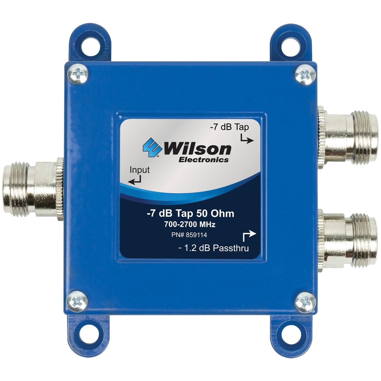 Wilson ELECTRONICS 859114 -7dB 2-Way Cellular Signal Tap (50O, N-Female Connectors)