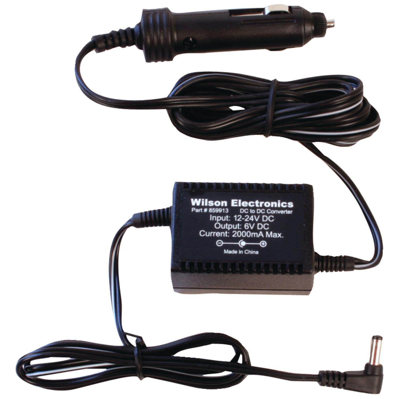 Wilson ELECTRONICs 859913 6-Volt DC Wireless Signal-Booster Power Adapter