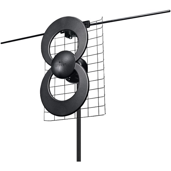 """Antennas Direct(R) C2-V-CJM ClearStream(TM) 2V UHF/VHF Indoor/Outdoor DTV Antenna with 20"""" Mount"""