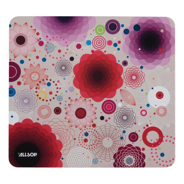 Allsop(TM) 30594 Mouse Pad (Floral Retro)