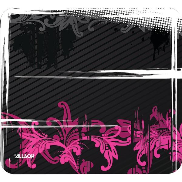 Allsop(TM) 30595 Mouse Pad (Floral Urban Pink)