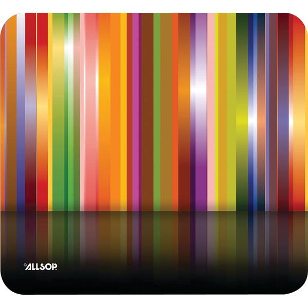 Allsop(TM) 30599 Mouse Pad (Tech Multi Stripes)