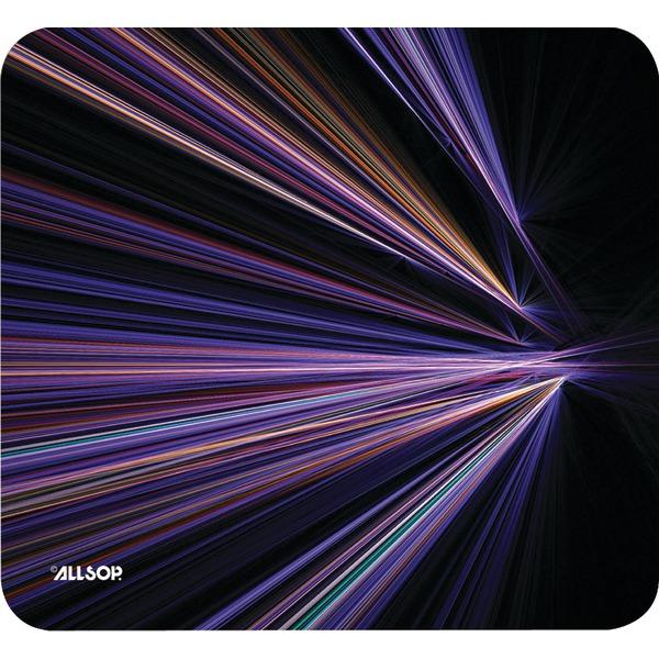 Allsop(TM) 30600 Mouse Pad (Tech Purple Stripes)