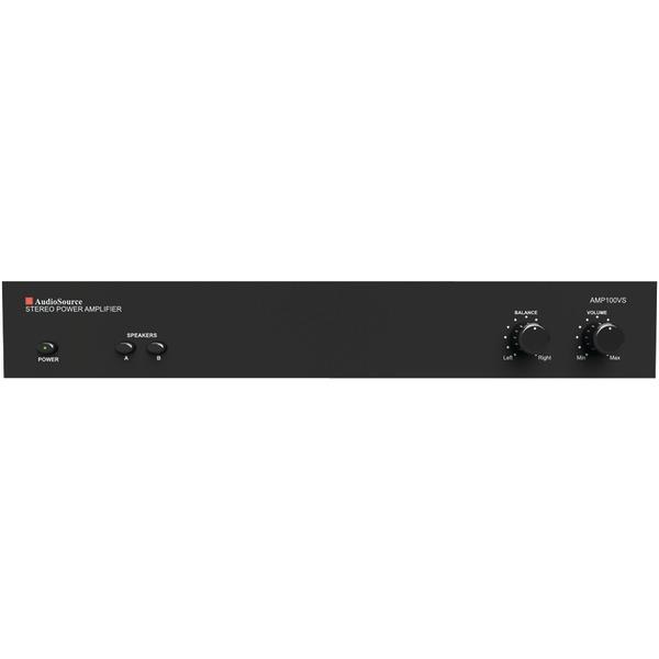AudioSource(R) AMP100VS AMP100VS 2-Channel Analog Power Amp (50 Watts per Channel)