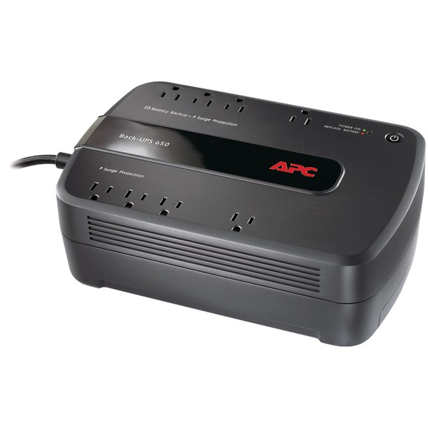 APC(R) BE650G1 Back-UPS 650 8-Outlet 650VA System