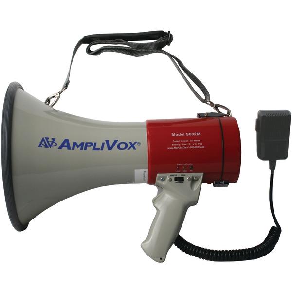 AmpliVox(R) S602MR Mity-Meg Plus 25-Watt Megaphone