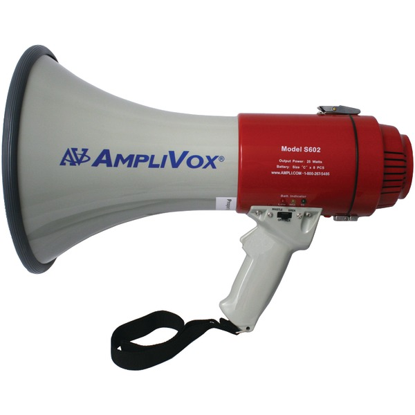 AmpliVox(R) S602R Mity-Meg 25-Watt Megaphone