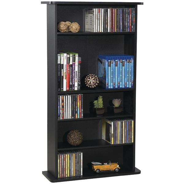 Atlantic(R) 37935726 Drawbridge CD & DVD Multimedia Cabinet
