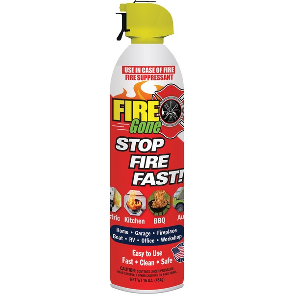 Fire Gone(R) FG-007-102 Fire Suppressant
