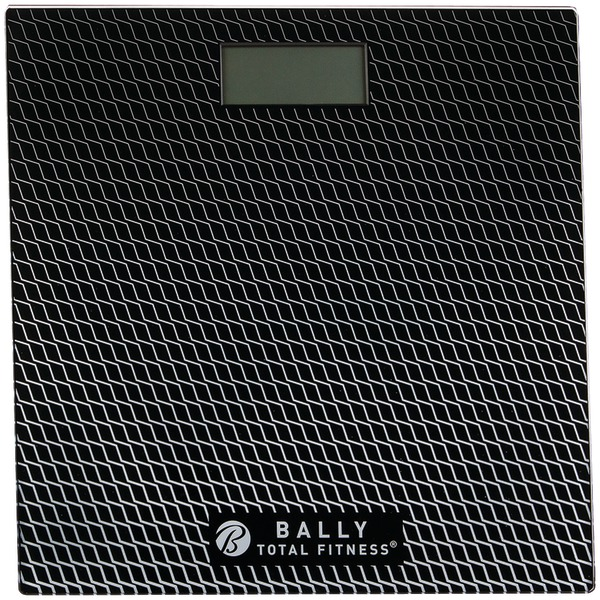 Bally Total Fitness(R) BLS-7302 BLK Digital Bathroom Scale (Black)