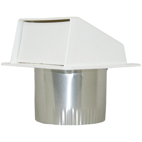 "Builder's Best(R) 111804 PEV802 4"" Under-Eave Exhaust Vent"