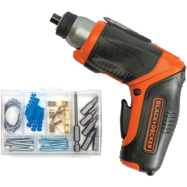 BLACK+DECKER(TM) BDCS40BI 4-Volt MAX* Lithium Pivot Screwdriver