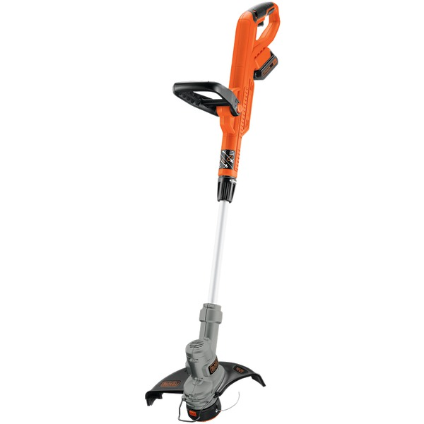 BLACK+DECKER(TM) LST300 20-Volt MAX* Lithium String Trimmer & Edger with 2-Amp Battery
