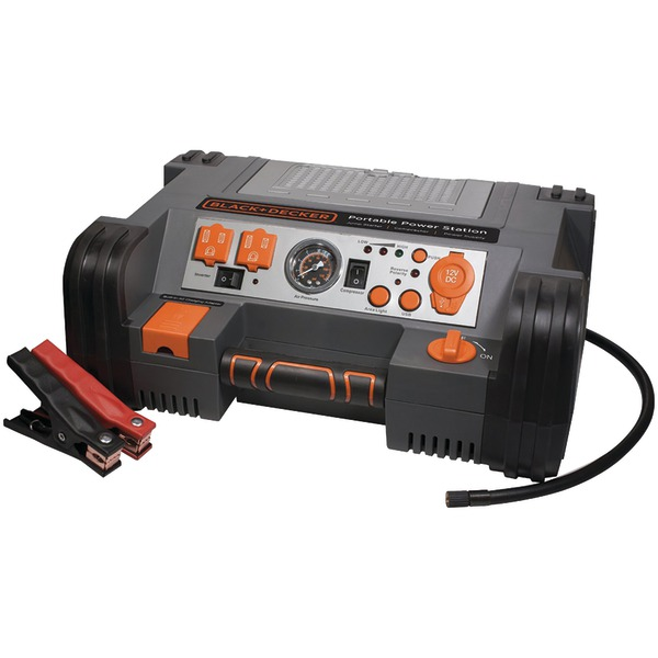 BLACK+DECKER(TM) PPRH5B Professional Power Station with 120psi Air Compressor