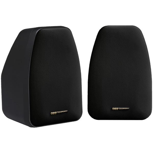 "BIC America DV32-B 3.5"" Bookshelf Speakers (Black)"