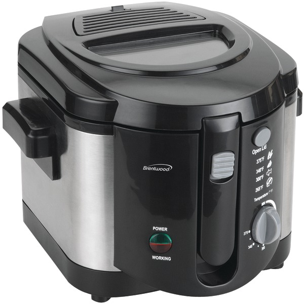 Brentwood(R) Appliances DF-720 8-Cup Electric Deep Fryer