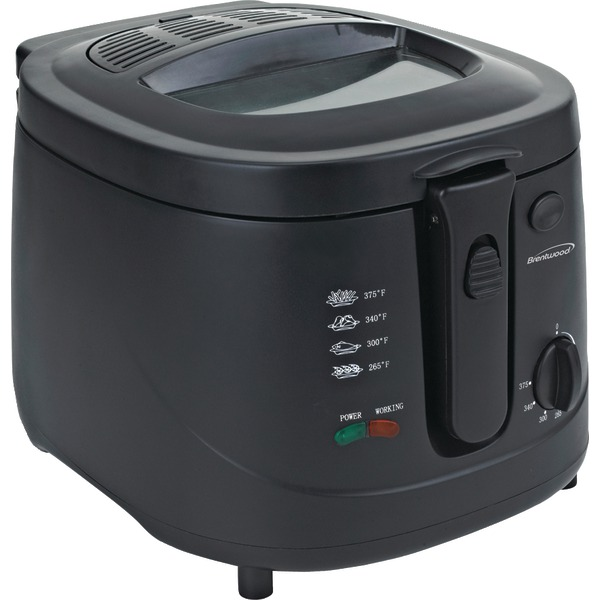 Brentwood(R) Appliances DF-725 12-Cup Electric Deep Fryer