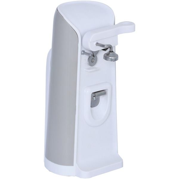 Brentwood(R) Appliances J-30W Tall Electric Can Opener with Knife Sharpener & Bottle Opener