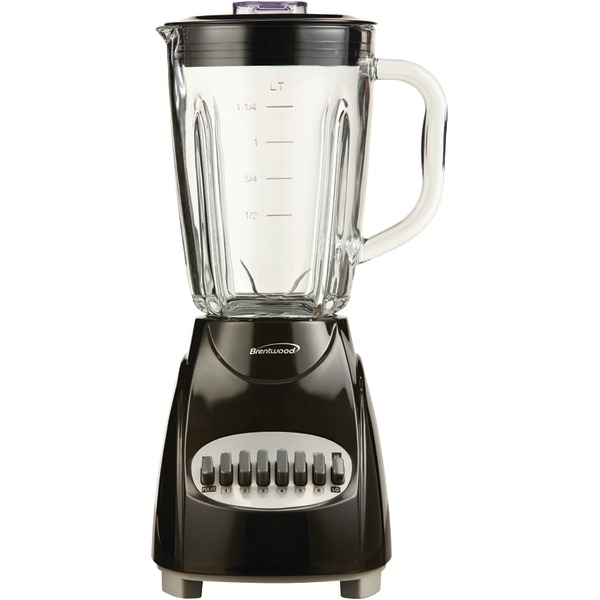 Brentwood(R) Appliances JB-920B 42-Ounce 12-Speed + Pulse Electric Blender with Glass Jar (Black)