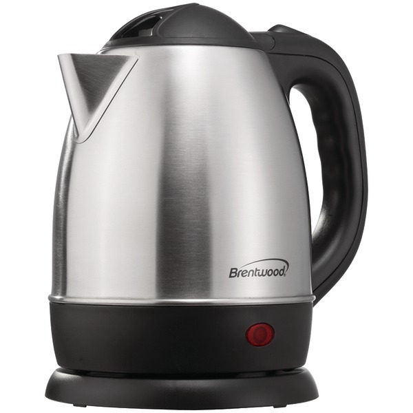 Brentwood(R) Appliances KT-1770 1.2-Liter Stainless Steel Cordless Electric Kettle