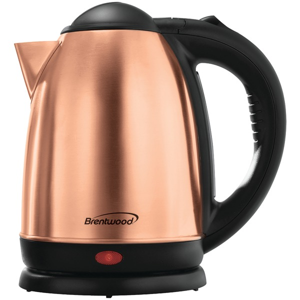 Brentwood(R) Appliances KT-1790RG 1.7-Liter Stainless Steel Cordless Electric Kettle (Rose Gold)