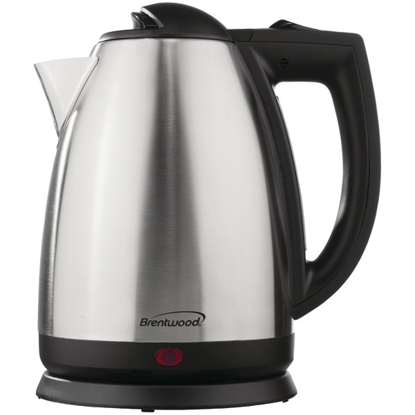 Brentwood(R) Appliances KT-1800 2-Liter Stainless Steel Electric Cordless Tea Kettle