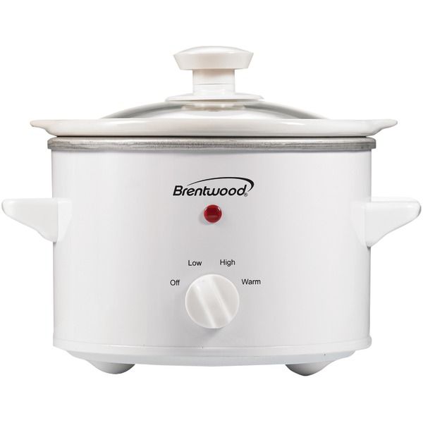 Brentwood(R) Appliances SC-115W 1.5-Quart Slow Cooker