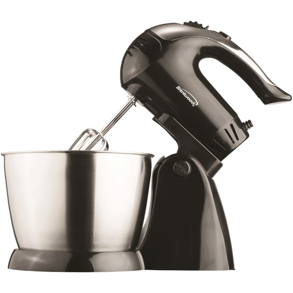 Brentwood(R) Appliances SM-1153 5-Speed + Turbo Electric Stand Mixer with Bowl (Black)
