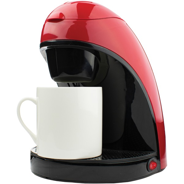 Brentwood(R) Appliances TS-112R Single-Serve Coffee Maker (Red)