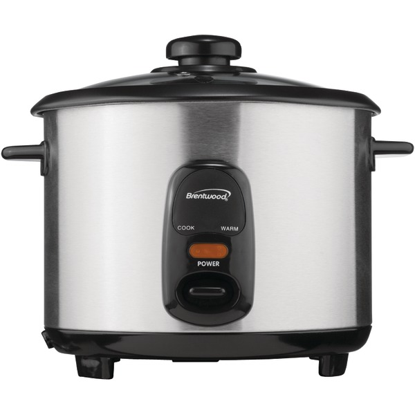 Brentwood(R) Appliances TS-20 10-Cup Stainless Steel Rice Cooker