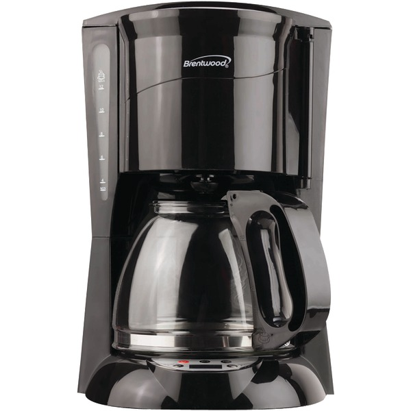 Brentwood(R) Appliances TS-218B 12-Cup Coffee Maker (Black; Digital)