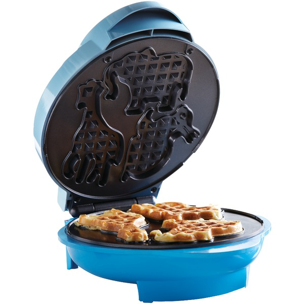Brentwood(R) Appliances TS-253 Nonstick Electric Food Maker (Animal-Shapes Waffle Maker)
