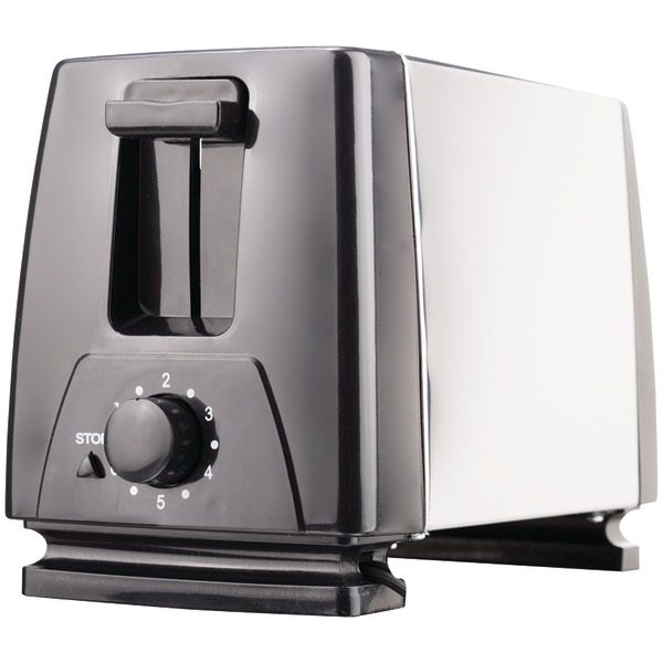 Brentwood(R) Appliances TS-280S 2-Slice Toaster with Extra-Wide Slots