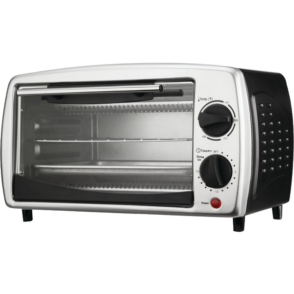 Brentwood(R) Appliances TS-345B 4-Slice Toaster Oven & Broiler (Black)
