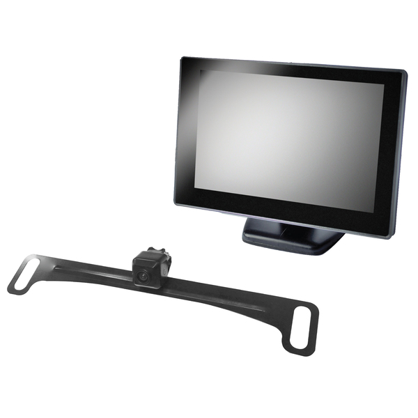 "BOYO Vision VTC175M 5"" Rearview Monitor with License-Plate Camera"