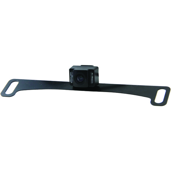 BOYO Vision VTL17IRTJ Concealed Mount HD Bar-Type License Plate Camera with Night Vision & Trajectory Parking Lines
