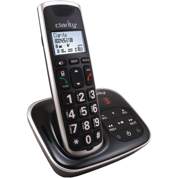 Clarity(R) 59914.001 Amplified Bluetooth(R) Cordless Phone with Answering Machine