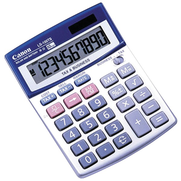 Canon(R) 5936A028 LS100TS 10-Digit Calculator