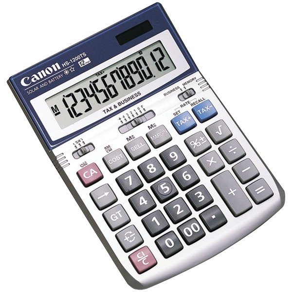 Canon(R) 7438A023 HS1200TS 12-Digit Calculator