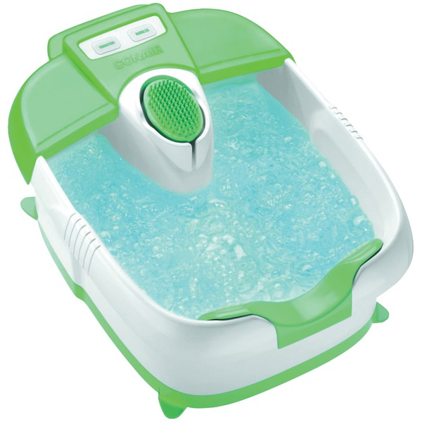 Conair(R) FB30 Massaging Foot Spa with Bubbles, Heat & Pedicure Attachments