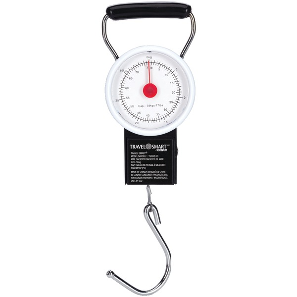 Travel Smart(R) TS602X Luggage Scale & Tape Measure