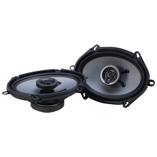 "Crunch(R) CS5768CX CS Series Speakers (5"" x 7""/6"" x 8"", Coaxial, 250 Watts max)"