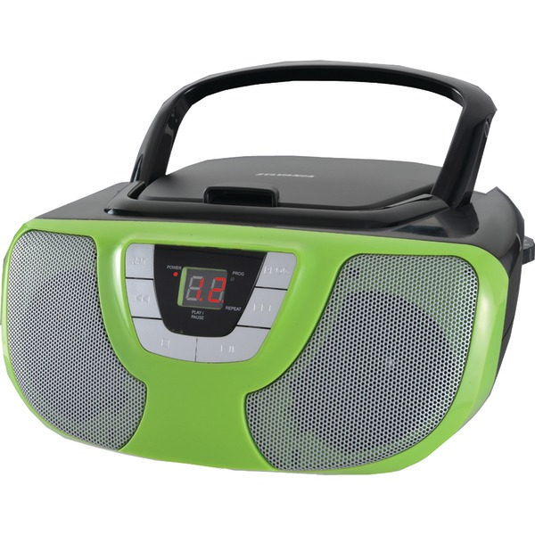 SYLVANIA(R) SRCD1025-TEAL Portable CD Radio Boom Box (Teal)